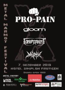 Metal Marmot Festival - Hotel Simplon Frutigen 2019