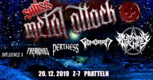 Swiss Metal Attack - Z7 Pratteln 2019