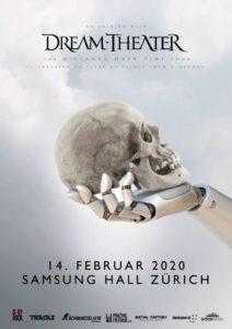 Dream Theater - Samsung Hall 2020 (Plakat)