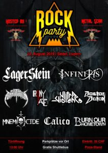 Metal Scar Rock Party - Sedel Luzern 2019