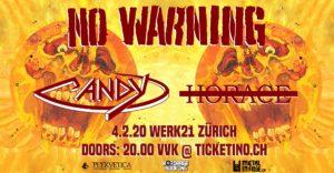 No Warning - Werk 21 Zürich 2020