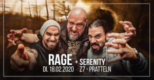 Rage, Serenity - Z7 Pratteln 2020