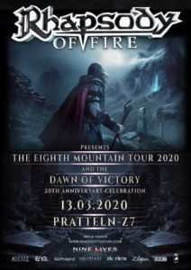 Rhapsody Of Fire - Z7 Pratteln 2020