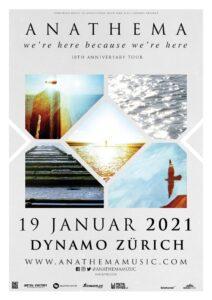 Anathema - Dynamo Zürich 2021