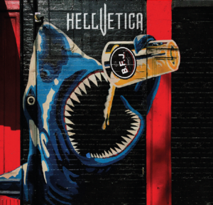 Hellvetica - BFJ (CD Cover Artwork)