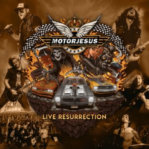 Motorjesus - Live Resurrection (CD Cover Artwork)