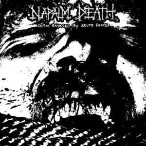 Napalm Death – Logic Ravaged By Brute Force (CD Cover Artwork)