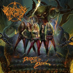 Burning Witches - Dance With The Devil (CD Cover Artwork)