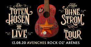 Die Toten Hosen - Rock oz' Arènes Avenches 2020