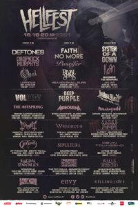 Hellfest 2021 - Flyer