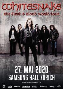Whitesnake - Samsung Hall 2020 (Plakat)