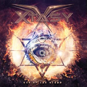 XTASY - Eye Of The Storm (CD Cover Artwork)