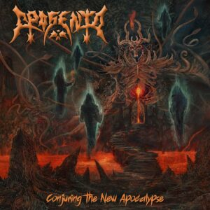 Aposento – Conjuring The New Apocalypse (CD Cover Artwork)