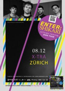 Enter Shikari - X-Tra Zürich 2020 (Flyer)