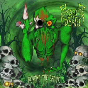 Pandemic Death – Beyond The Grave (CD Cover Artwork)