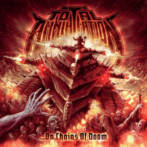 Total Annihilation – … On Chains Of Doom (CD Cover Artwork)