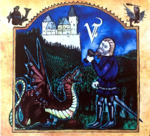 Véhémence - Par le Sang Versé (CD Cover Artwork)