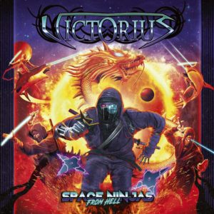 Victorius - Space Ninjas From Hell (CD Cover Artwork)