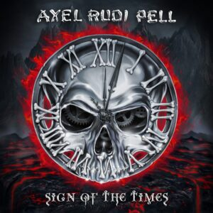 Axel Rudi Pell - Sign Of The Times (CD Cover Artwork)