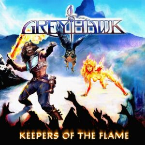 Greyhawk – Keepers Of The Flame (CD Cover Artwork)