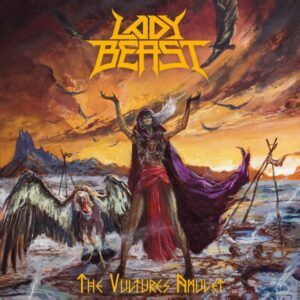 Lady Beast – The Vulture's Amulet (CD Cover Artwork)