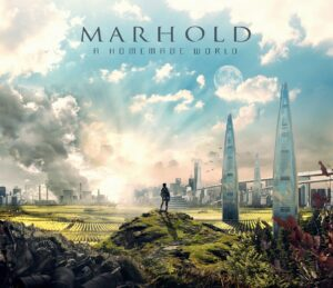 MARHOLD - A Homemade World (CD Cover Artwork)
