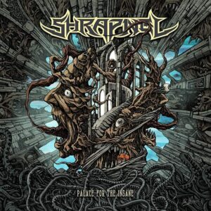 Shrapnel - Palace For The Insane (CD Cover Artwork)