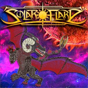 Solar Flare – Solar Flare (CD Cover Artwork)