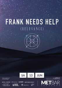 Frank Needs Help - Met-Bar Lenzburg 2020 (Flyer)