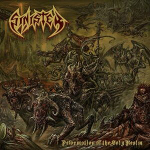 Sinister - Deformation Of The Holy Realm (CD Cover Artwork)
