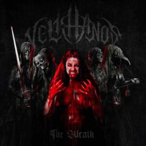 Velkhanos - The Wrath (CD Cover Artwork)