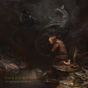 Fordomth – Is, Qui Mortem Audit (Cover Artwork)