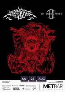 Devils Rage - As Sanity Fades - Met-Bar Lenzburg 2020 (Flyer)