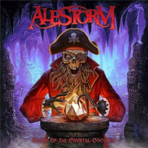 Alestorm – Curse Of The Crystal Coconut (CD Cover Artwork)