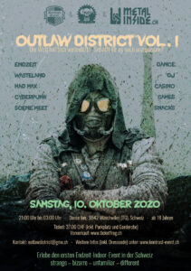 Outlaw District Vol. 1 - Flyer - 2020