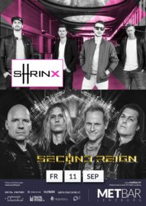 Second Reign, Shrinx - Met-Bar Lenzburg 2020 (Flyer)
