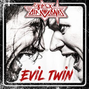 Black Diamonds - Evil Twin (Cover Artwork)