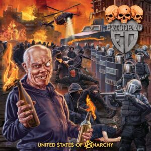 EVILDEAD - United States Of Anarchy (Cover Artwork)