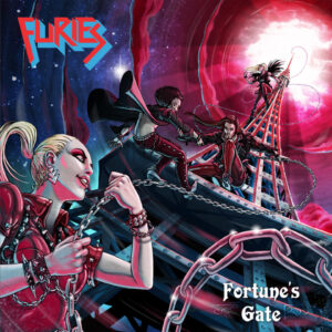 Furies – Fortune's Gate (Cover Artwork)