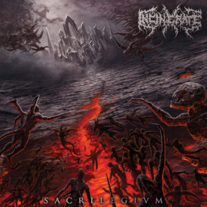 Incinerate - Sacrilegivm (Cover Artwork)