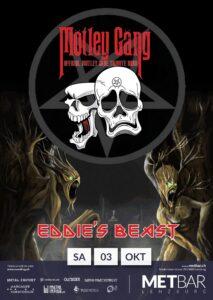 Mötley Gäng, Eddie's Beast - Met-Bar Lenzburg 2020 (Plakat)