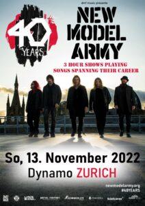 New Model Army - Dynamo Zürich 2022