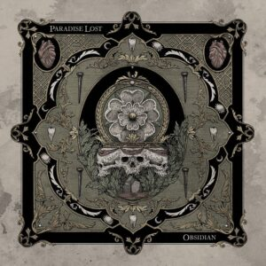 Paradise Lost - Obsidian (Cover Artwork)