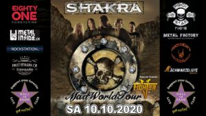 Shakra - Hall of Fame Wetzikon 2020
