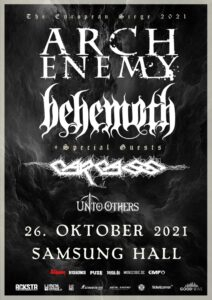 Arch Enemy - Behemoth - Samsung Hall Dübendorf 2021