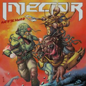 Injector - Hunt of the Rawhead (Cover Artwork)