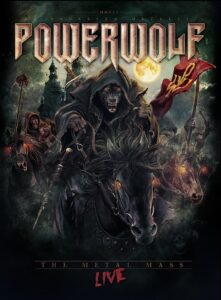 Powerwolf – The Metal Mass Live (DVD Cover Artwork)
