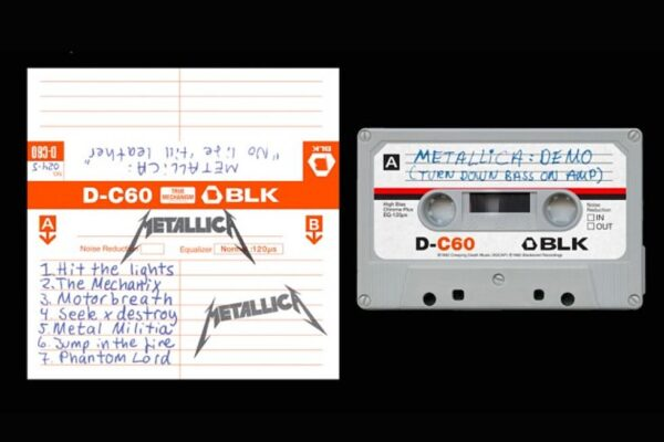 Metallica - No Life 'Til Leather Cassette