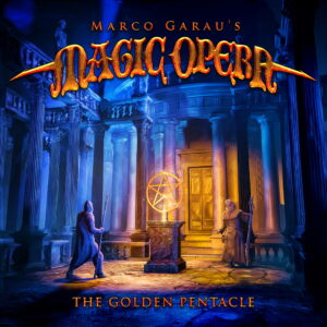 Magic Opera - The Golden Pentacle (Cover Artwork)