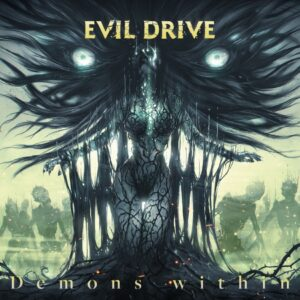 Evil Drive – Demons Within (Cover Artwork)